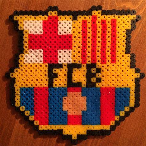 Barcelona Creative 3 b 252 gelperlen perler football fc barcelona cool