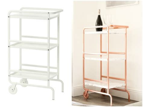 sunnersta ikea hack ikea sunnersta bar cart hack diy your beauty