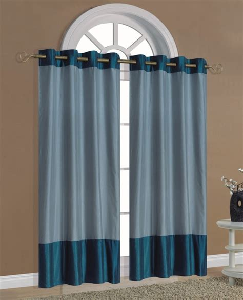light blue grommet curtains 55x84 quot raceway light blue teal grommet panel curtain