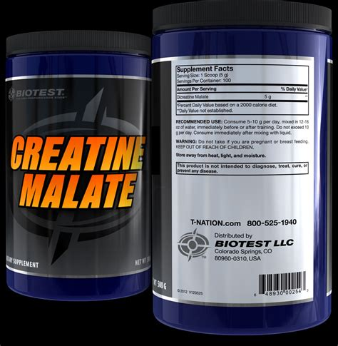 t nation biotest creatine creatine malate biotest
