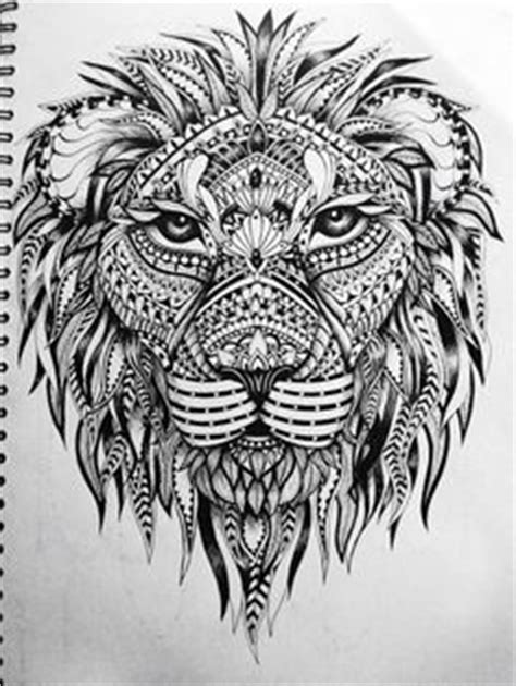 lion zendoodle drawn by justine galindo signed prints lion zendoodle drawn by justine galindo signed prints