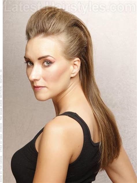 mohawk hair long in the front 28 super easy prom hairstyles to try