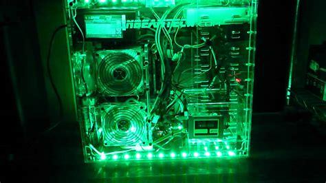 Led Pc rgb ledテープ pcケースへ取り付け例