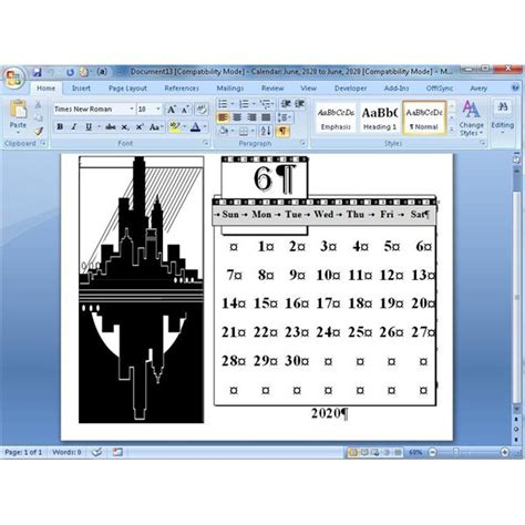 Ms Word Calendar Wizard how to use the microsoft word calendar wizard worldstar