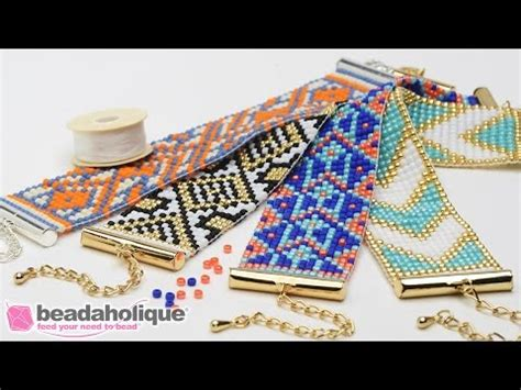 How to Make the Beaded Loom Bracelet Kits by Beadaholique   VidoEmo   Emotional Video Unity