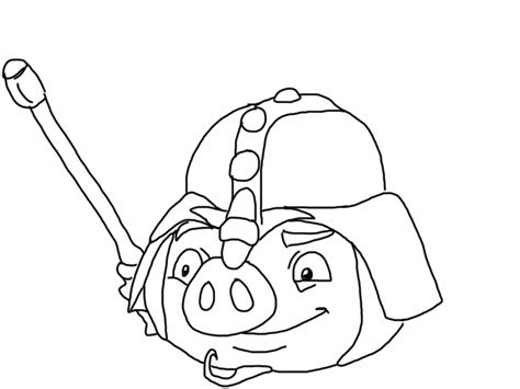 angry birds epic pigs coloring pages angry birds epic coloring page knight pig my free