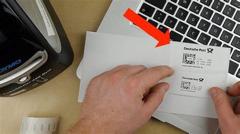 Versandetikett Drucken Dhl by Dymo 450 Internetmarke Drucken Briefe