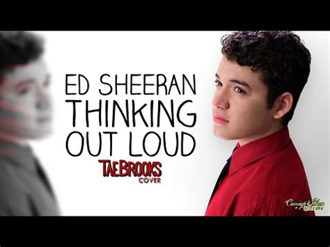 download mp3 ed sheeran thinking out loud ed sheeran thinking out loud cover by tae brooks