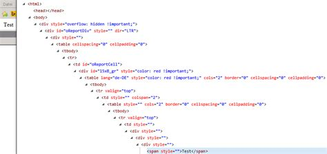 html style color html css style does not apply style depth limit
