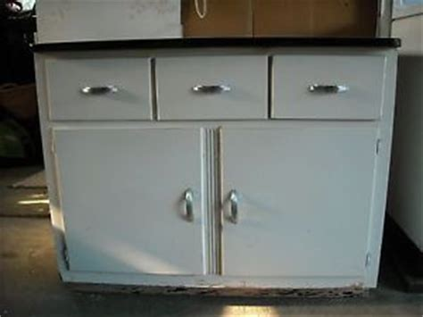 Vintage Enamel Top Kitchen Cabinet Vintage Retro Kitchen Cabinet Enamel Porcelain Top Ebay