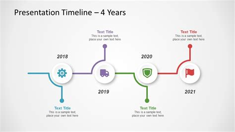 Free Timeline Template For Powerpoint Slidemodel Powerpoint Timeline Templates Free