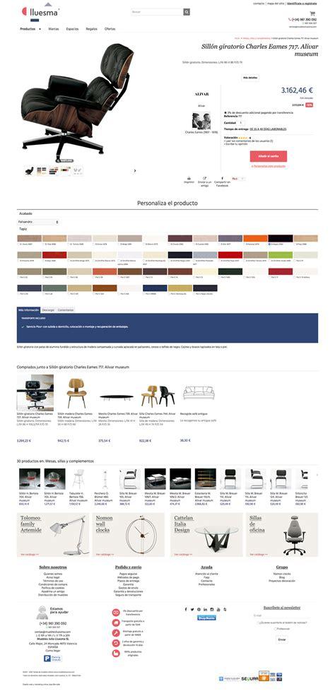 paginas de venta de muebles online dise 241 o web desarrollo tienda online muebles lluesma jose