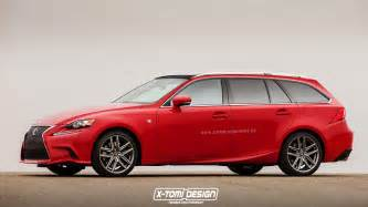 Lexus Is Wagon 2016 Lexus Is Rendered In Sport Wagon Guise Autoevolution
