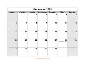 2015 Free Printable Calendar Template by 2015 Calendar Template With Holidays Great Printable