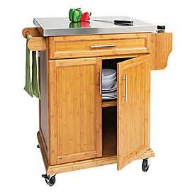 Big Lots Kitchen Furniture Small Bamboo Stainless Steel Top Kitchen Cart Big Lots