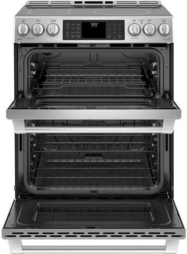 GE CHS995SELSS 30 Inch Slide In Induction Range with True
