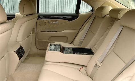 Lexus Ls 460 Reclining Back Seat by Lexus Ls 2007 On
