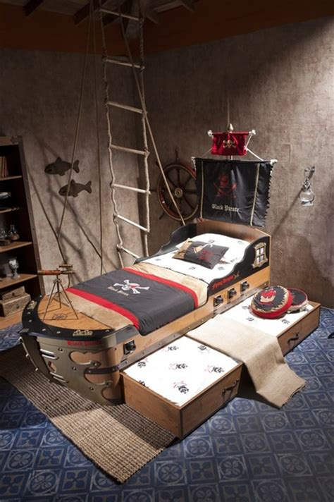 pirate themed bedroom black pirate kids bedroom collection modern kids