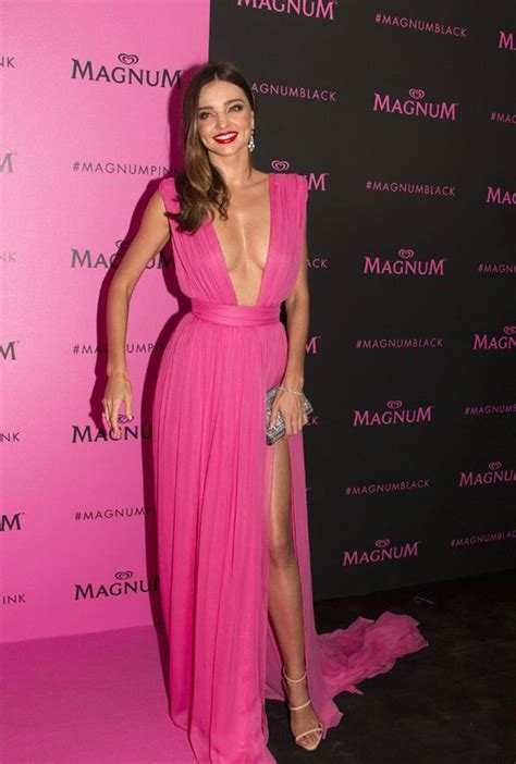 Dress Pink Merk Bodysoul miranda kerr flashes and bum in daring slashed gown at cannes festival