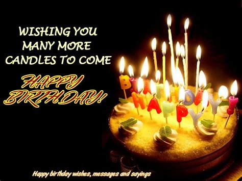 Happy Birthday I Wish You Many More Birthday Wishes With Candle Page 4