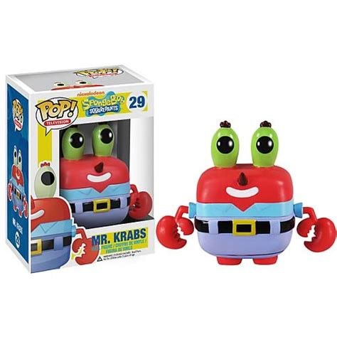 spongebob squarepants mr krabs pop vinyl figure funko spongebob squarepants pop vinyl