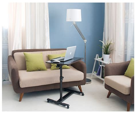adjustable portable table desk stand sofa bed tray laptop