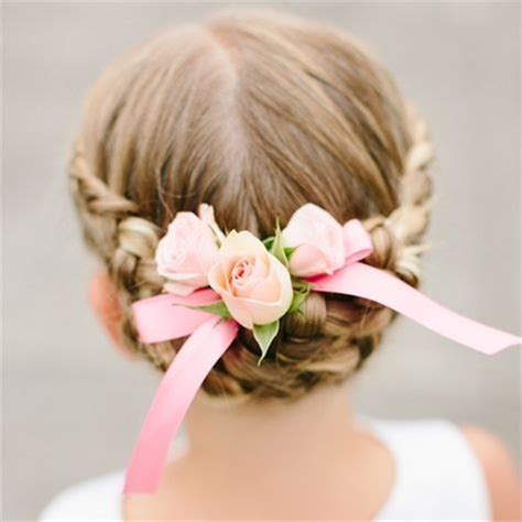25+ best flower girl hairstyles ideas on pinterest