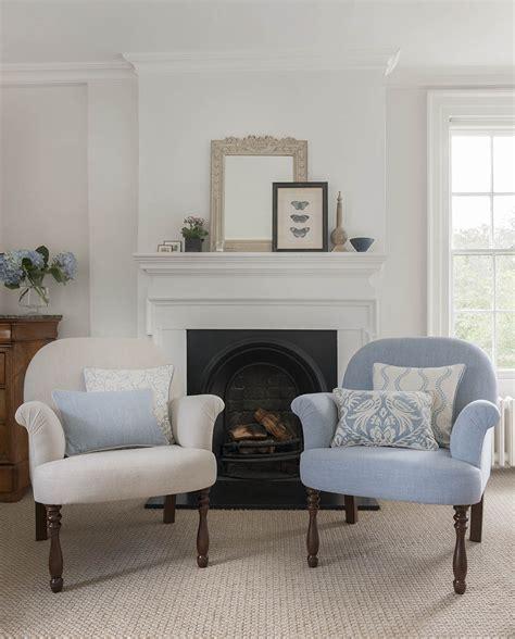 Maravillosa  Como Confeccionar Estores #9: Sillones-tapizados-en-azul-villalba-interiorismo-2.jpg