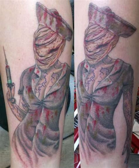silent hill tattoo from silent hill