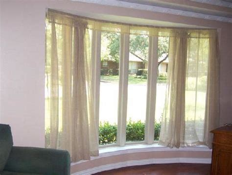 curtains rods for bay windows bay window sheers bendable curtain rod transitional
