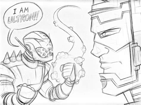coloring page ultron ultron by piotrov on deviantart coloring page ultron