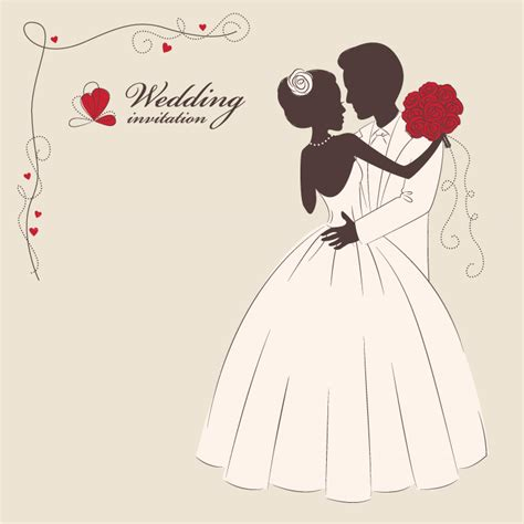 Wedding Vector Free by 5 Wedding Invitation Vector Vectorfans