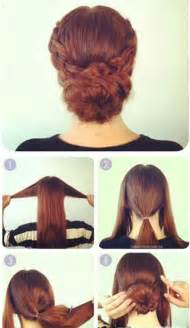 Step 1 comb the hair well and then ide it into three parts that