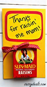 quot thanks for raisin me quot s day card crafty morning