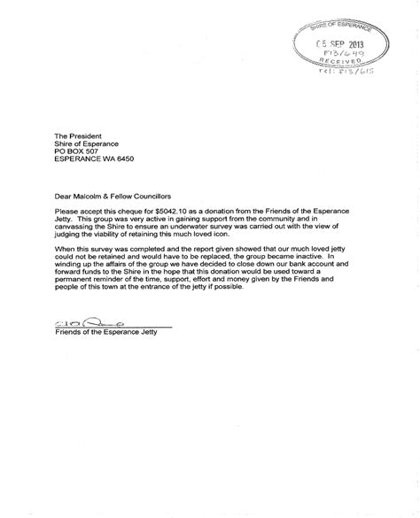Letter Guarantor Rent Australia Agenda Of Ordinary Council 24 September 2013