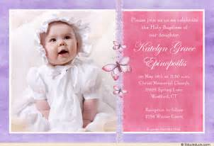 lace holy baptism invitation butterfly pink amp purple