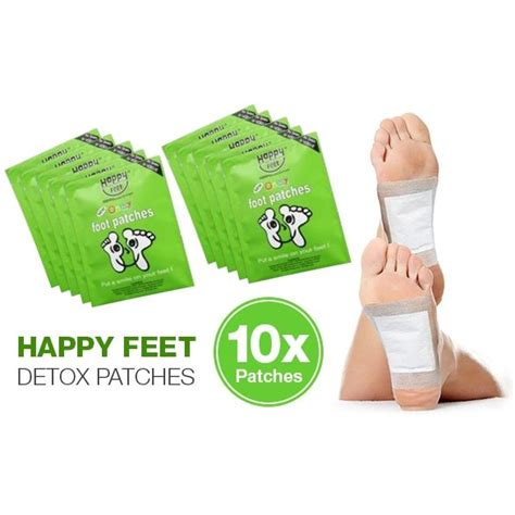 Chi Detox Foot Patches Review by Happy Detox Foot Patches 10 Pack Buy Health