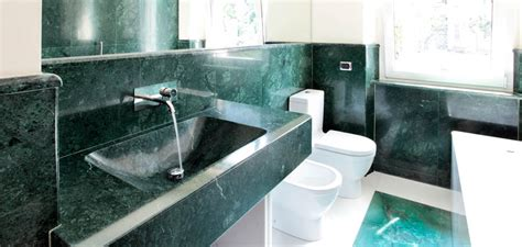 green marble bathroom odone angelo green marble bathrooms