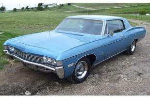1968 chevy impala blue all in a s work