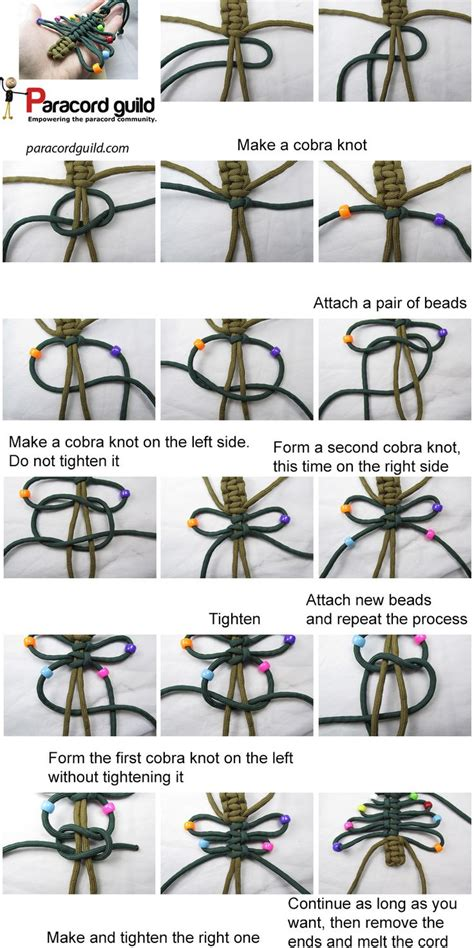 printable paracord instructions a tutorial on the paracord christmas tree knots