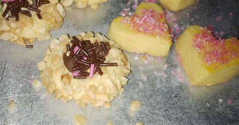 Kue Kering Lebaran Pink Ladie resep kue lebaran resep peanut and pink sugar cookies