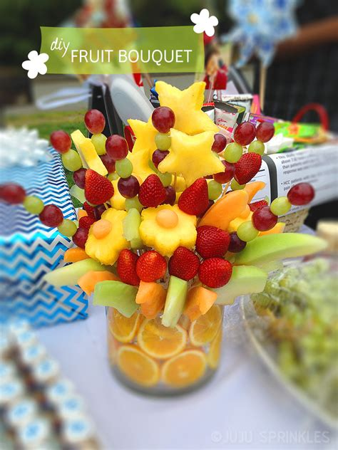 fruit arrangements diy how to make a 100 fruit bouquet 20 juju sprinkles