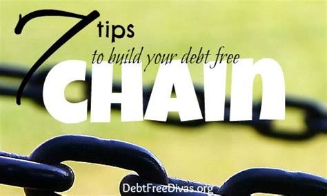 7 Tips to Build Your Debt Freedom Chain   Debt Free