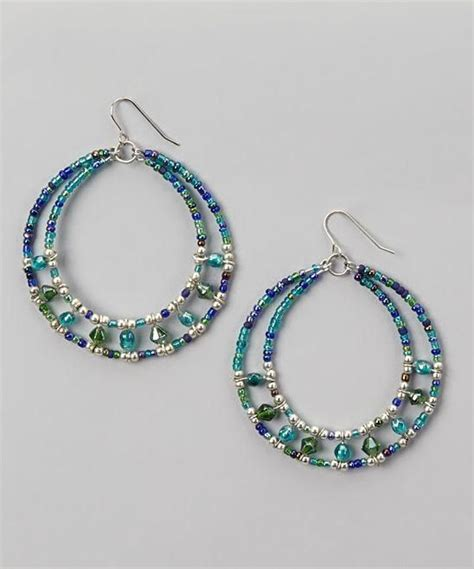 Beaded Hoop beaded hoop earrings craft ideas from lc pandahall