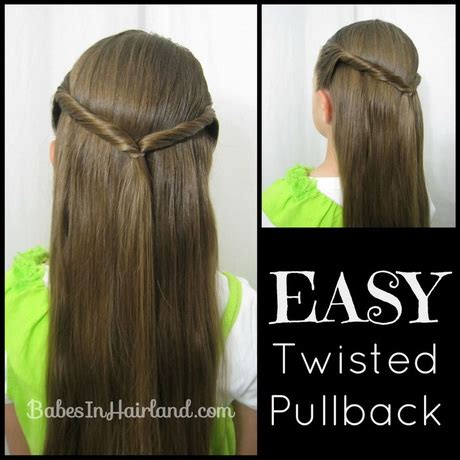 quick hairstyles for school run 5 easy hairstyles for school