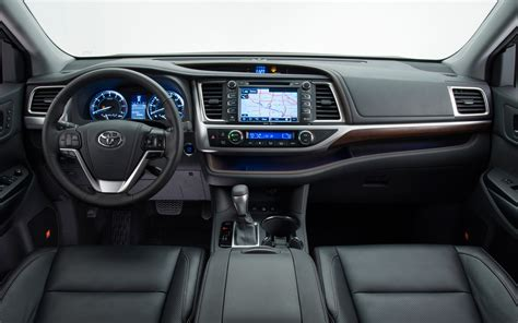 2014 Toyota Highlander Interior Dimensions by 2014 Toyota Highlander Exterior Specs Against Pilot