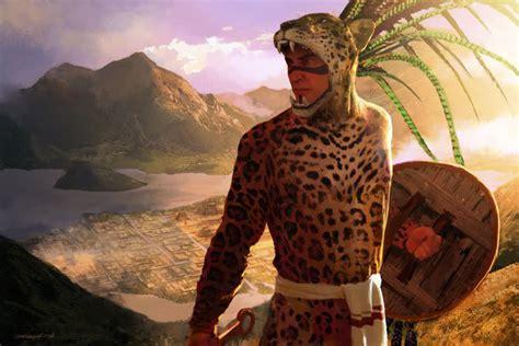 imagenes caballero jaguar armamento tolteca azteca y puntas de flechas indias