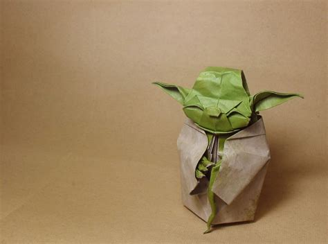 Pictures Of Origami Yoda - yoda wars origami
