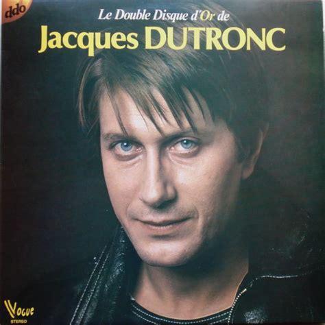 jacques dutronc vinyl jacques dutronc le double disque d or de jacques dutronc