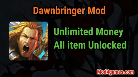 download game mod apk offline no data dawnbringer unlimited money game mod apk free with offline